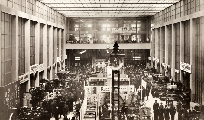 Great Hall during a Trade Fair, 1930s