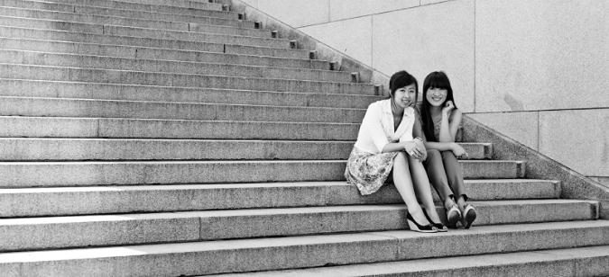 Mai Huong and Thuy Duong