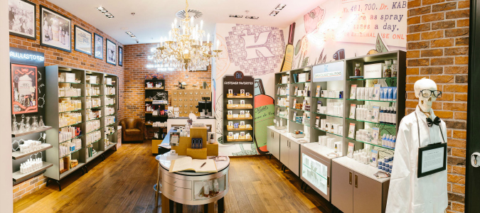 New York's Apothecary Comes to Prague