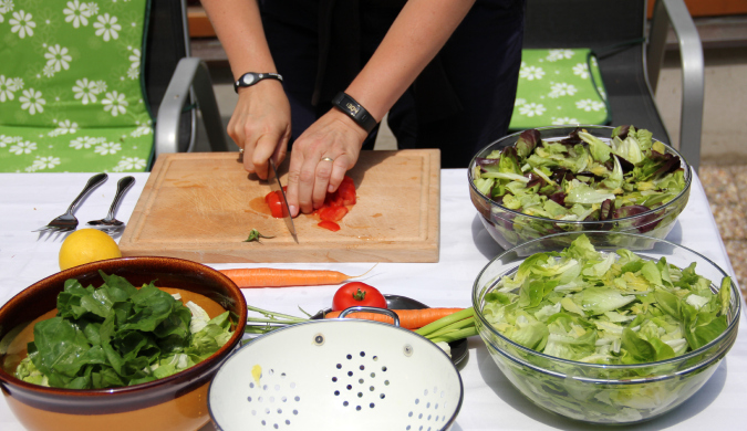 How We Eat: Slovenian Chopped Salad