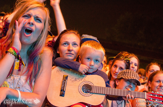 In Photos: Colours of Ostrava 2014