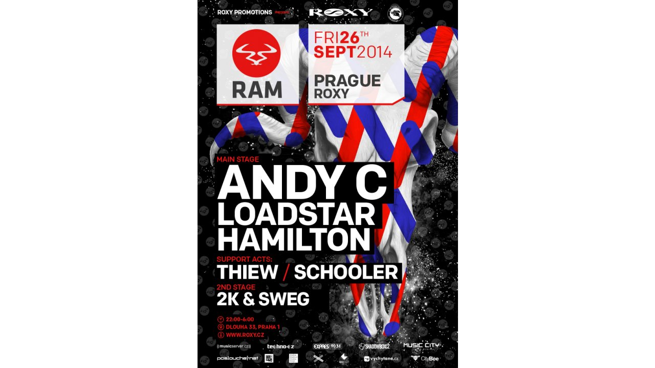 , WIN: RAM Night W/ Andy C, Loadstar & Hamilton, Expats.cz Latest News & Articles - Prague and the Czech Republic, Expats.cz Latest News & Articles - Prague and the Czech Republic