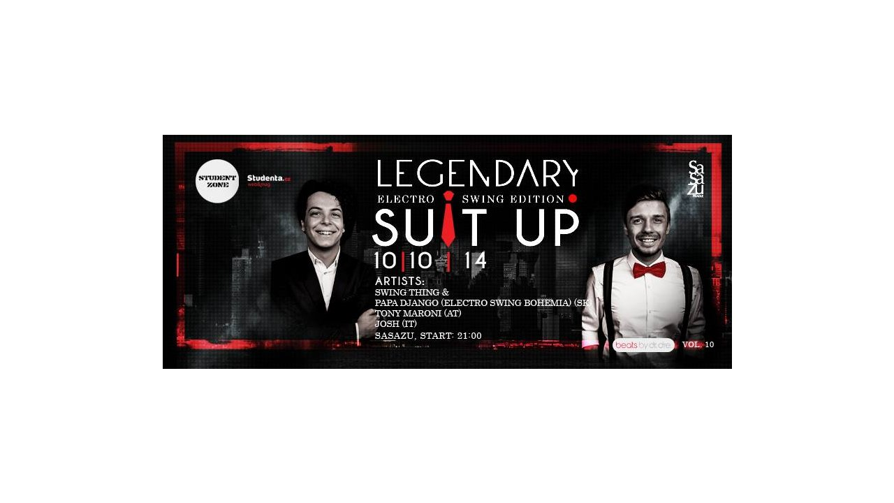 , WIN: Suit up vol. 10 – Special Electro Swing edition, Expats.cz Latest News & Articles - Prague and the Czech Republic, Expats.cz Latest News & Articles - Prague and the Czech Republic