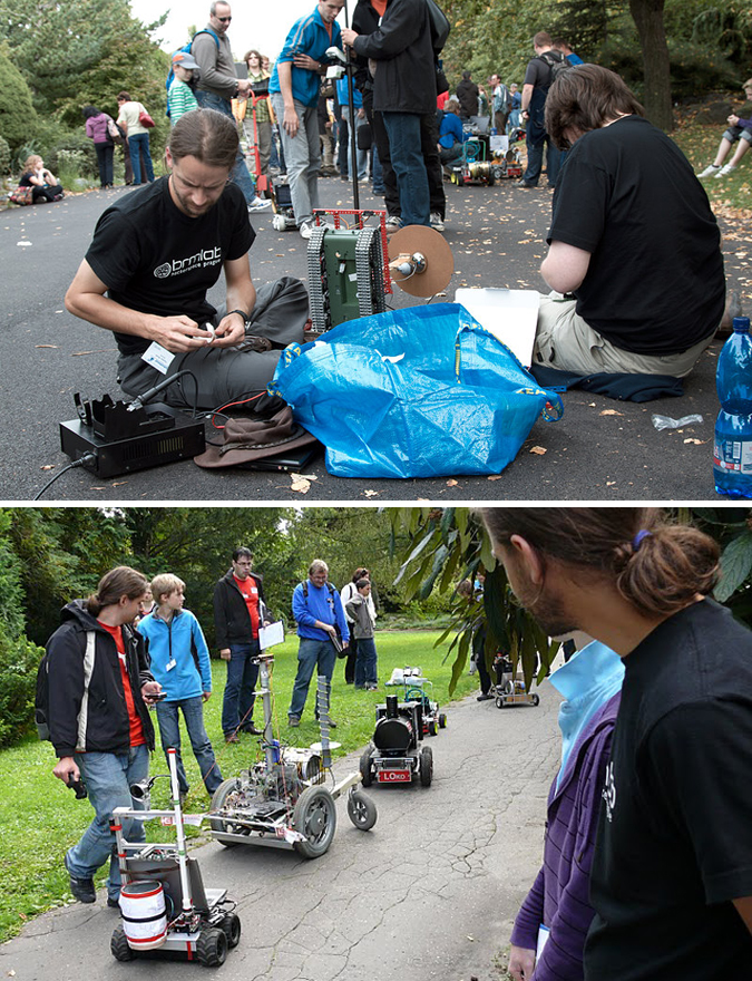 Robotour 2010