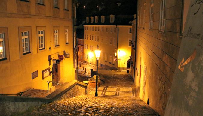 Jánský Vršek in Lesser Town