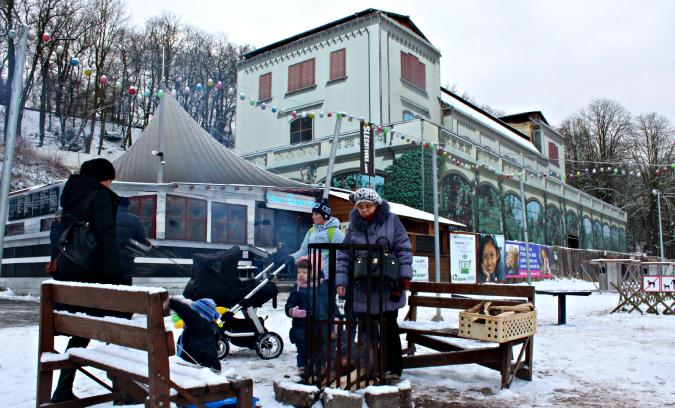 Šlechtovka in Stromovka park
