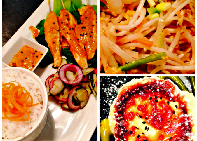 Selection of dishes from KiinDi