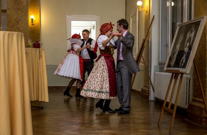 PHOTOS: Having a (Moravian) Ball