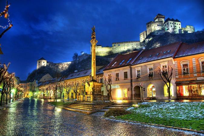 Trenčín Castle / Image: Wiki - Abphoto