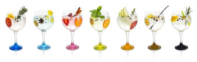 Creative Gin and Tonic Recipes, Prague - Czech Republic