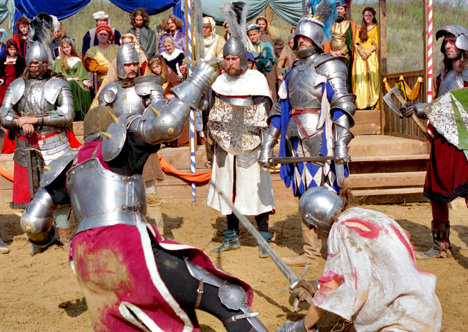 Medieval Knights to Battle at Prague Castle