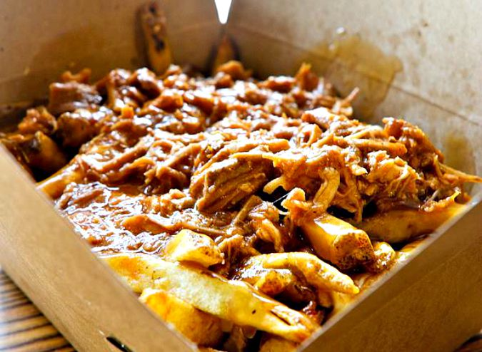 Poutine from Garage: Image: Facebook