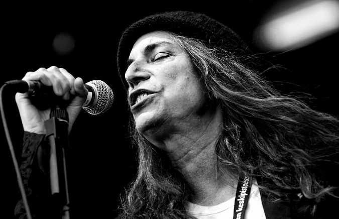 Patti Smith/Image: Wiki Commons