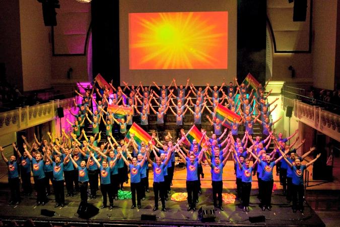 Chorus gay london man