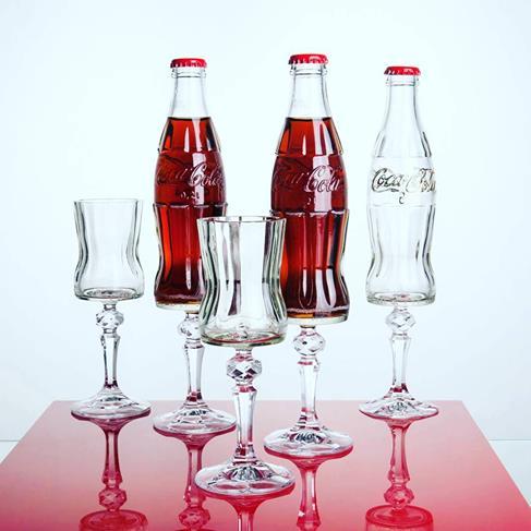 Czech Artists Re-Invent the Coca-Cola Bottle