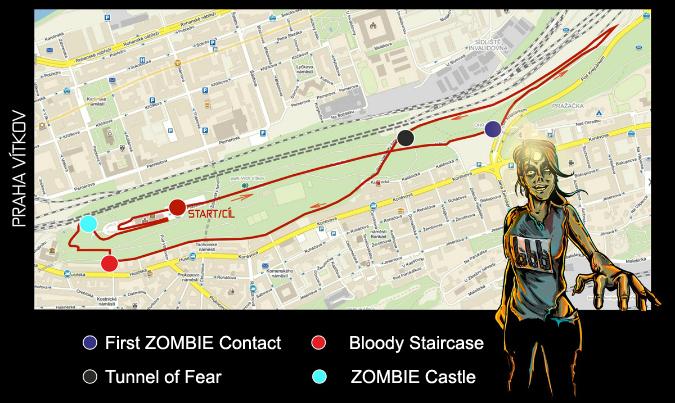 Zombie Run Comes to Prague