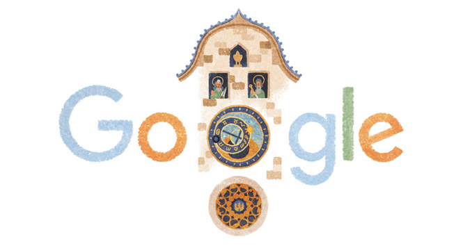 Screenshot: Google Doodle Blog