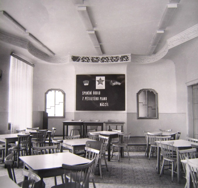 Vegetarian restaurant (now NoD), 1981