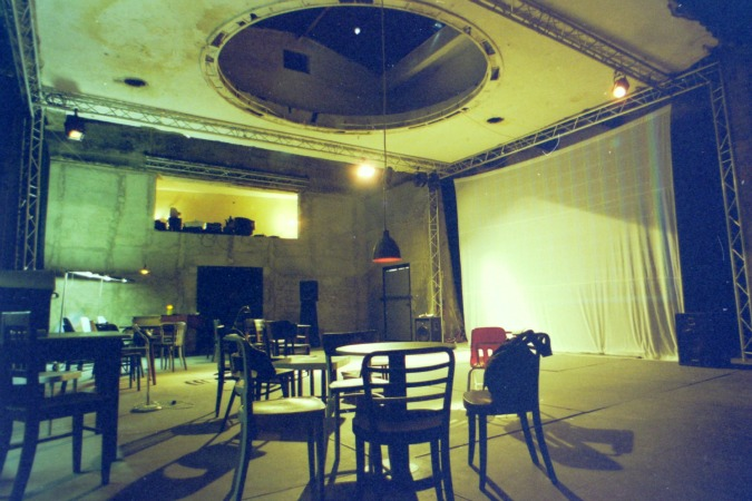 Experimental space/theater opens, 2002