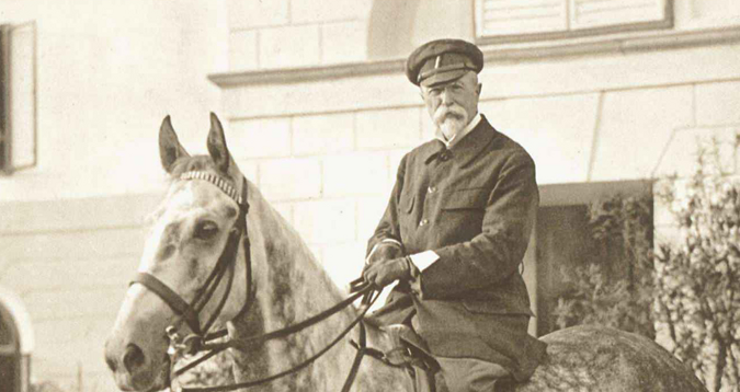 Tomáš Garrigue Masaryk - The first president of Czechoslovakia