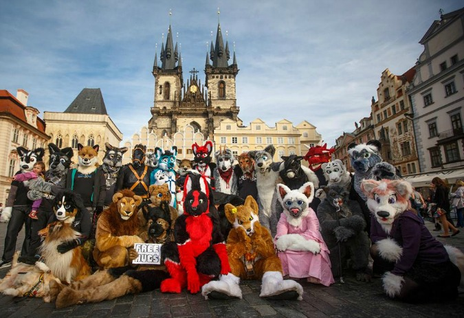 Fursuit Halloween Prague/Image: Facebook