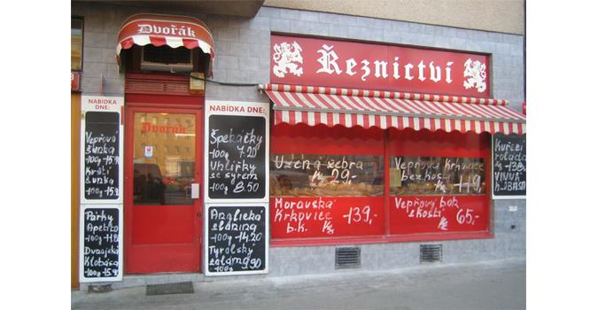 Traditional Czech řeznictví