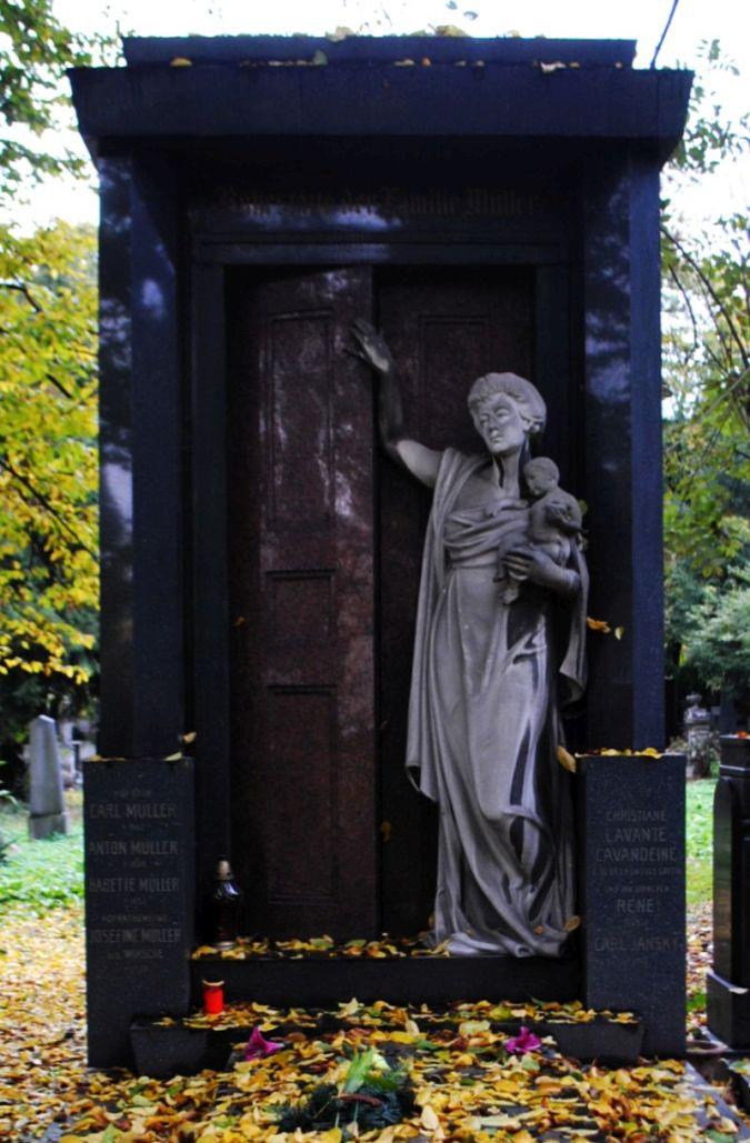 Carl Muller, Olšanské hřbitovy 1980