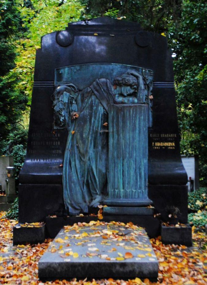 Karel Hrabanek, Olšanské hřbitovy, 1947
