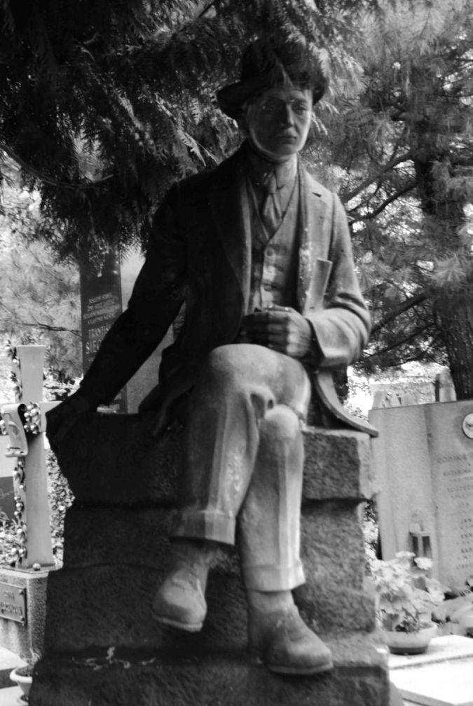 Leopold Batek, Olšanské hřbitovy, 1928