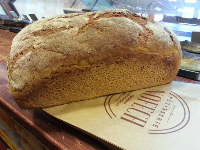 Fresh-baked rye at Patisserie Nofech