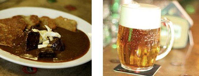 Pilsner beer & goulash – the best combination you can treat yourself to at Kobyla