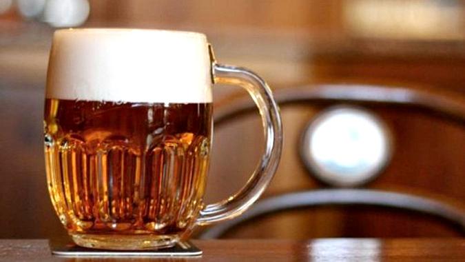 Enjoy some excellent beer at the U Brázdů Restaurant