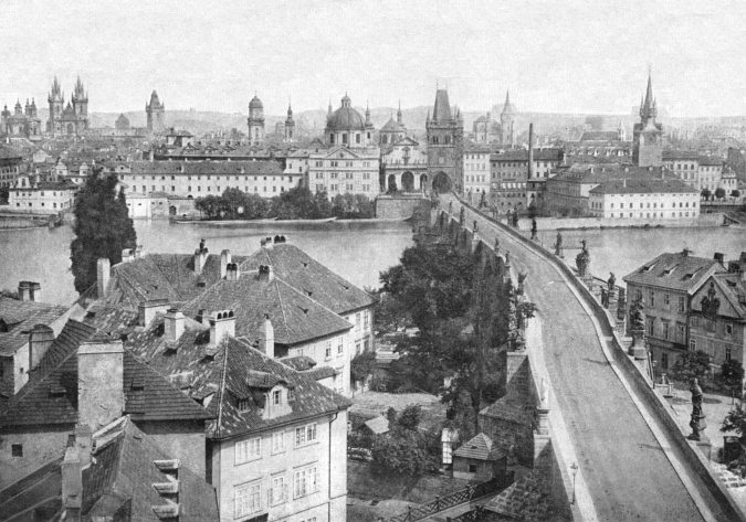 Panorama of Old Town, 1856