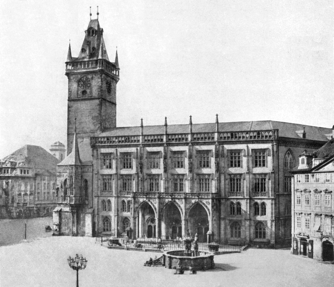 Old Town Square, 1856