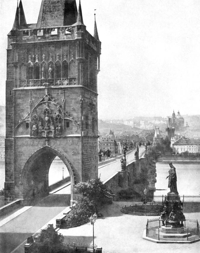 Charles Bridge, 1856