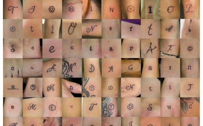 Photo: Human Rights Tattoo Project / Facebook