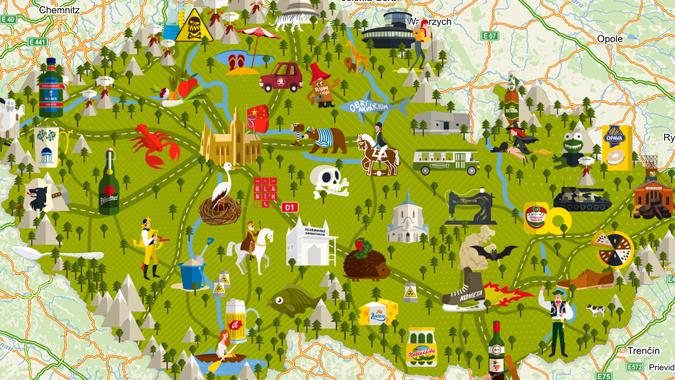 Screenshot: Mapy.cz