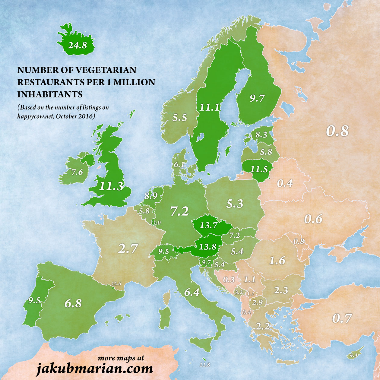 Czech Republic One of Europes Most VeggieFriendly Countries