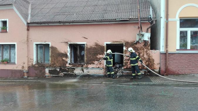 Photo: Facebook / Hasiči Čestice