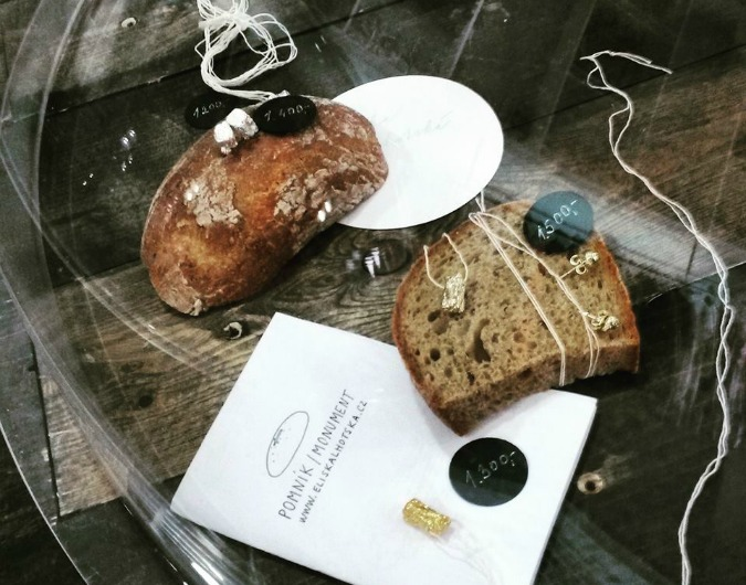 Designer Uses Czech Bread to Make Jewelry