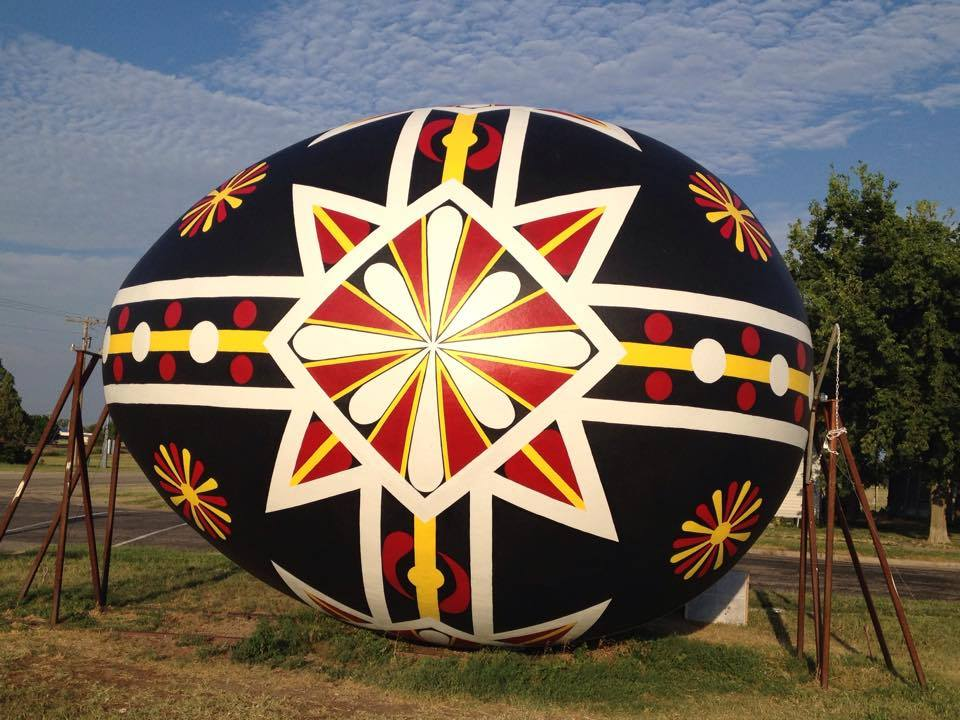Photo: Facebook / World's Largest Czech Egg