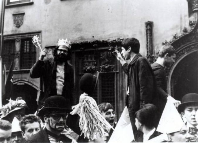 Allen Ginsberg in Prague, 1965