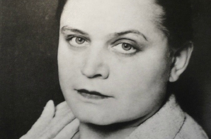 Czech artist Toyen was born in Smíchov