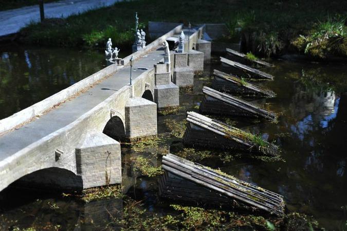 Stone Bridge Písek