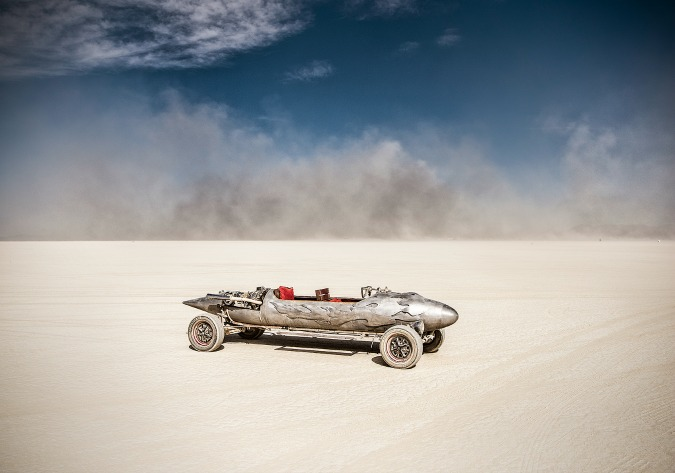 Czech Photographer Takes Amazing Photos of Burning Man