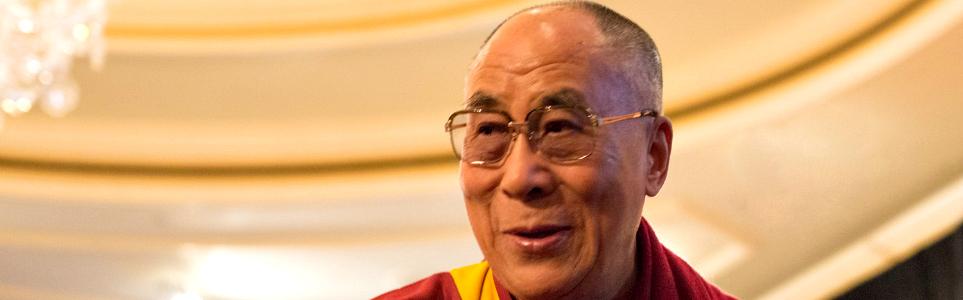 The Dalai Lama in 2014 | Photo: Flickr / Minette (via Wikimedia)