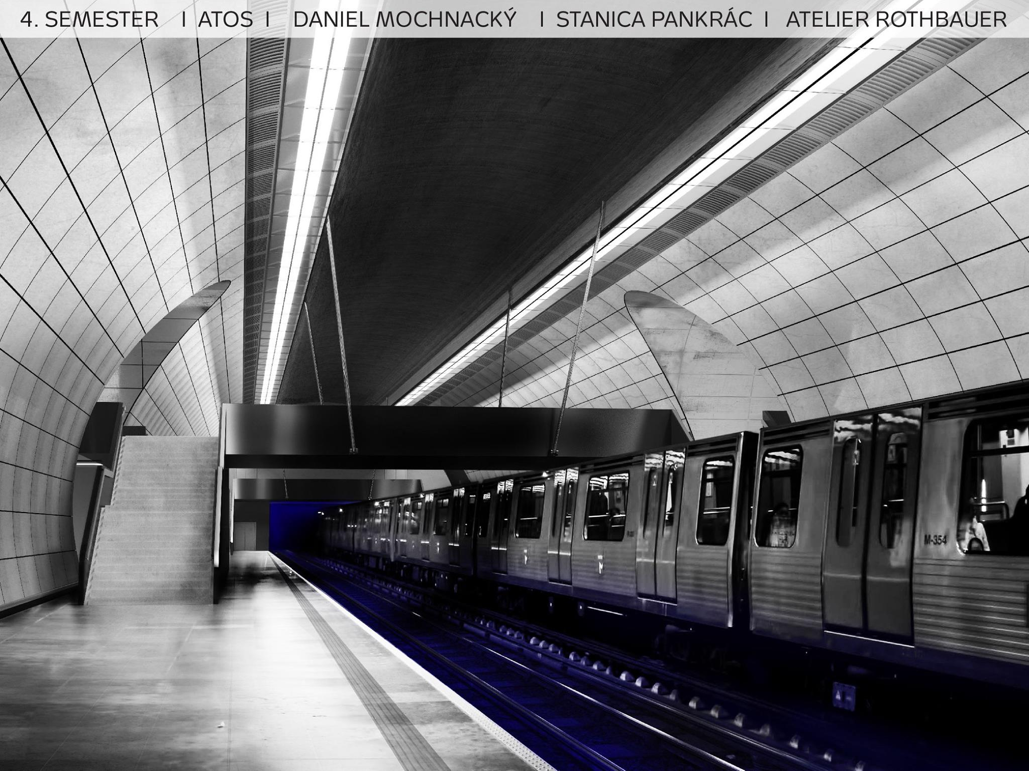 Pankrác | Image: Daniel Mochnacký (via Facebook / Metro D atelier Rothbauer)