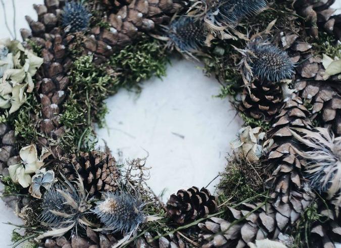 Advent Wreath by Green Decor