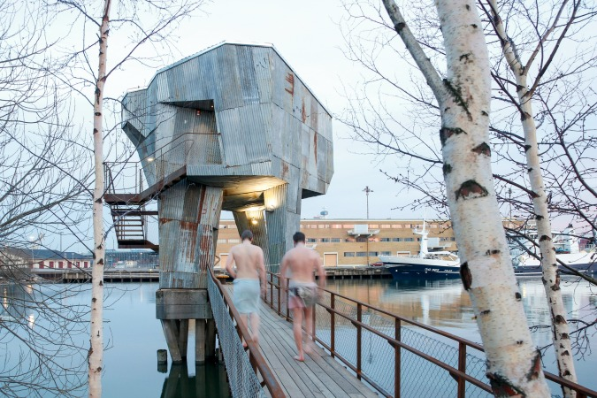Spa in Gothenburg, Sweden/ Photo: © raumlaborberlin