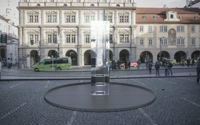 , Giant Ice Sculpture Appears on Lesser Town Square, Expats.cz Latest News & Articles - Prague and the Czech Republic, Expats.cz Latest News & Articles - Prague and the Czech Republic